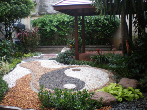 Gardens With A Difference The Ying Yang Garden Thai