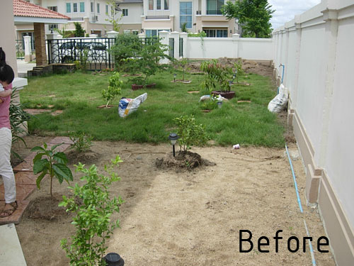 Charmant Low Maintenance Garden Design Bangkok