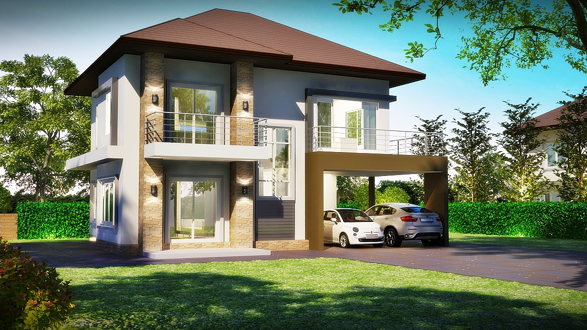 free property developer services thai garden design